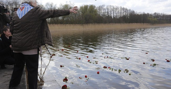 Ceremonies mark liberation of 2 Nazi camps 70 years ago