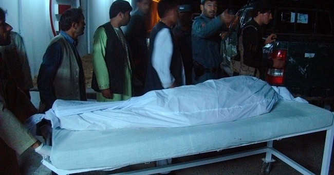 Afghan doctor: 3 dead in suicide attack on police station