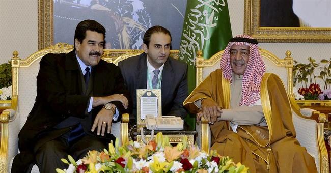 Venezuela, Saudi leaders meet and talk oil prices in Riyadh