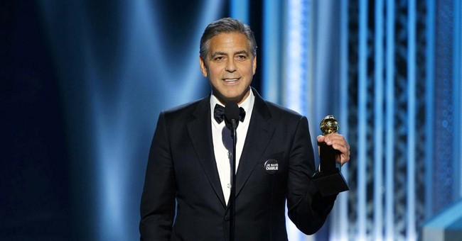 Clooney wins DeMille Award at Globes