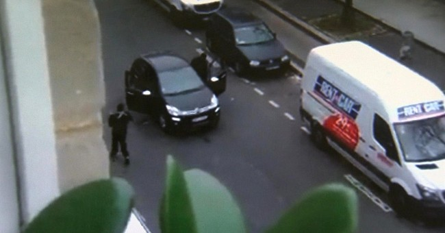 AP Exclusive: Witness to Paris officer's death regrets video