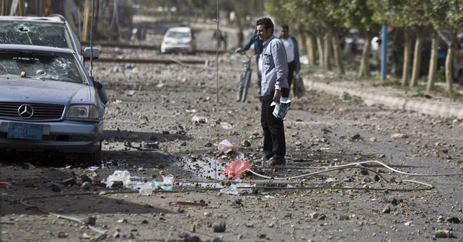 Bombs shatter houses in Yemen capital, hit near Iran Embassy