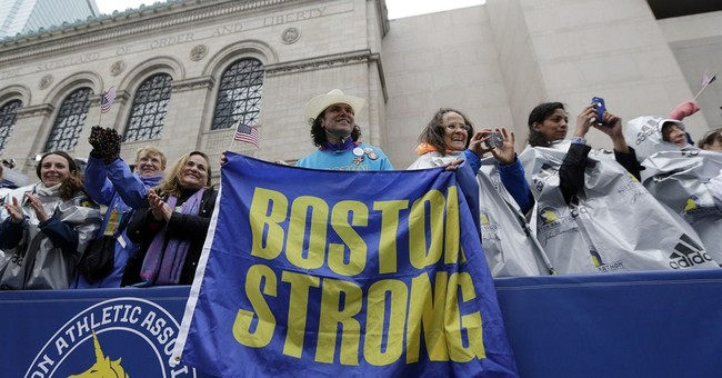 2 years after bombings, a festive Boston Marathon mood