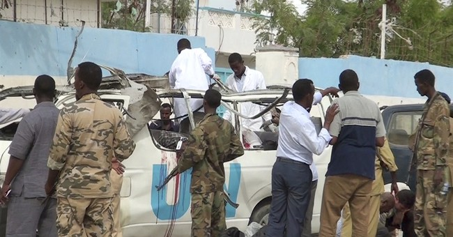 Al-Shabab bombs UN van in Somalia, 4 UNICEF workers killed