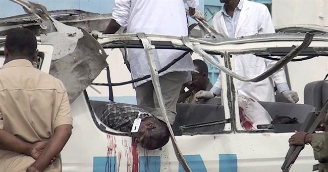 Al-Shabab bombs UN van in Somalia, 4 UNICEF workers killed