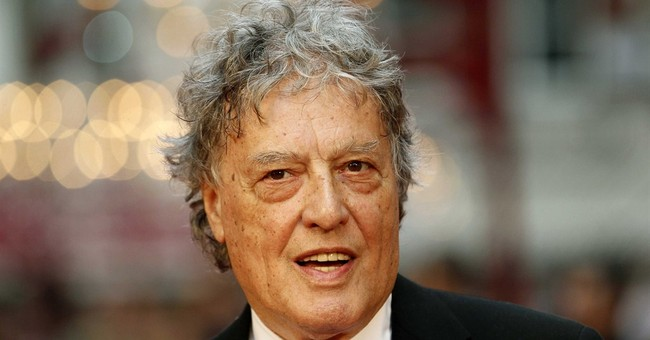 Tom Stoppard calls it a 'frightening time' for free speech