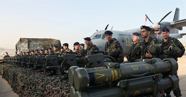 Lebanon gets first shipment of $3B worth of French arms