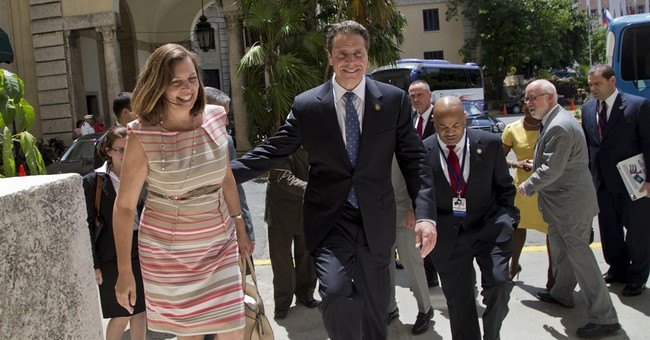 NY's Cuomo become 1st US governor to visit Cuba post-detente
