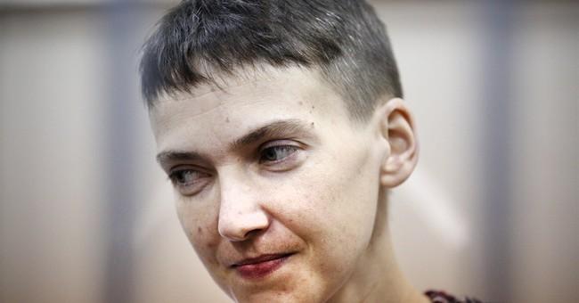 Mother of Ukraine pilot jailed in Russia seeks global help