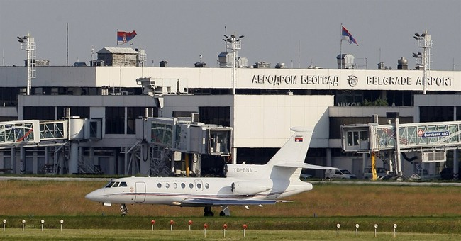 Serbia president's plane trouble caused by coffee spill