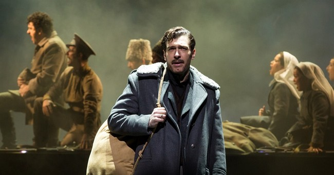Review: Broadway's 'Doctor Zhivago' is bombastically silly