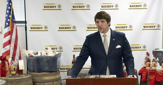 Prosecutors: Suspects busted for stealing barrels of bourbon