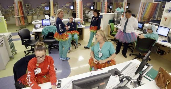 Tutu Tuesday brings smiles to Florida children's hospital