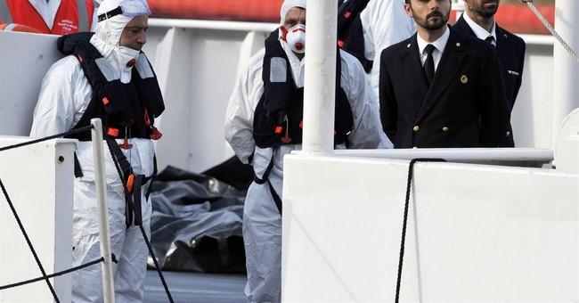 AP PHOTOS: Desperate migrants meeting death in Mediterranean