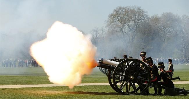 Gun salutes mark Queen Elizabeth II's 89th birthday
