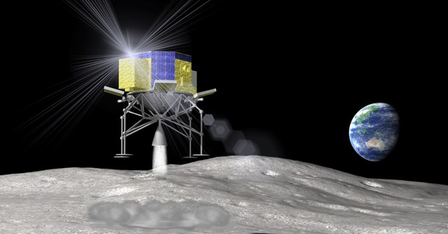Japan mulls 2018 moon landing, seeks to keep up with rivals