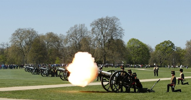 Gun salutes mark Queen Elizabeth II's 89th birthday