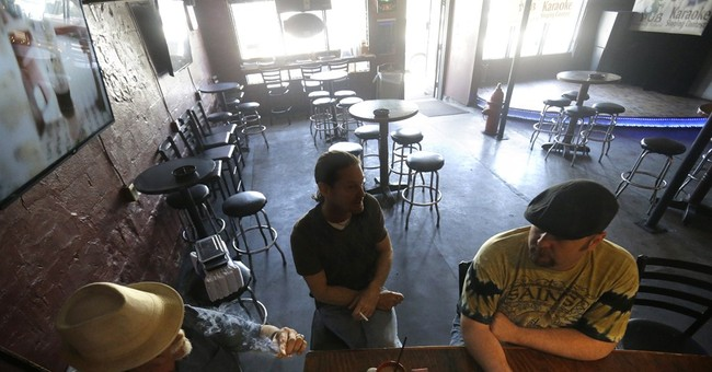 Smoking inside bars is officially off-limits in New Orleans