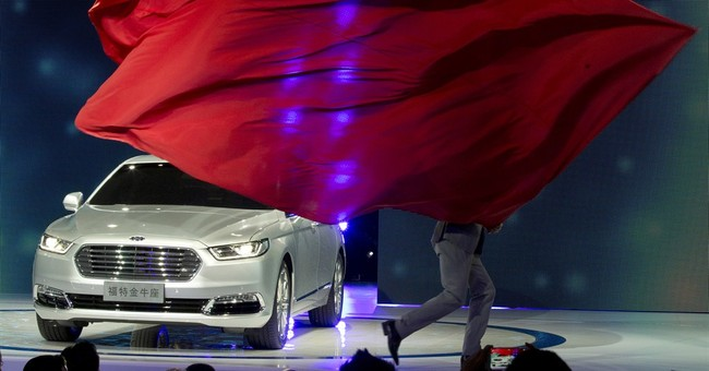Ford unveils new Taurus influenced by China