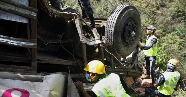 17 Indian pilgrims killed in Nepal bus accident