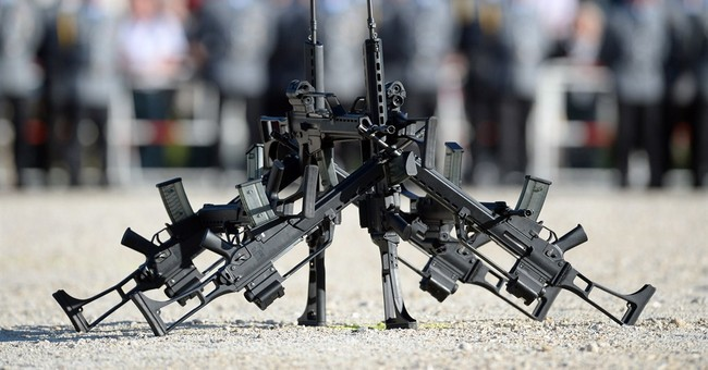 German defense minister: widely used rifle has no future