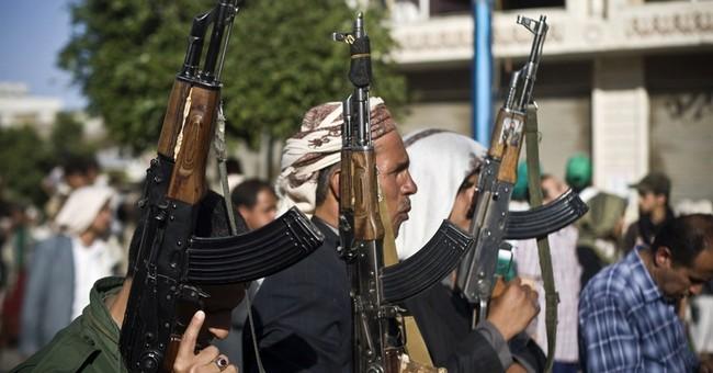 Saudi-led airstrikes bomb Yemen's Shiite rebels in 6 cities