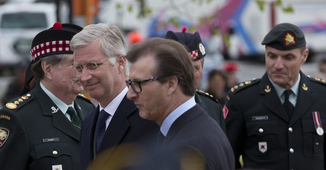Belgian king leads remembrance of 1st use of gas in war