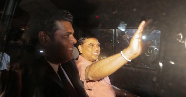 Sri Lankan police arrest former president's brother