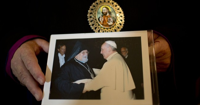 Armenian archbishop in Argentina proud of pope