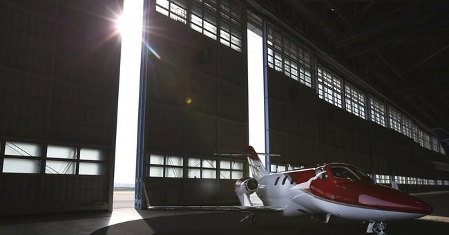 Honda shows new business jet in Japan