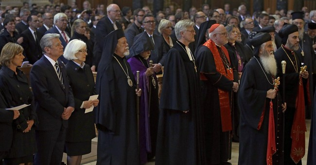 German president labels Armenian killings as genocide