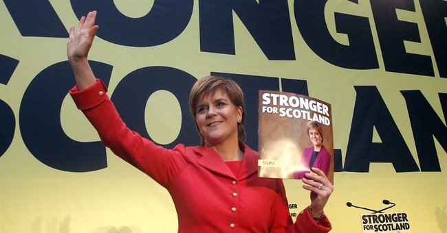 Noticing Nicola: SNP leader makes mark in race