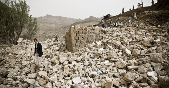 UN: High civilian toll in Yemen conflict; at least 550 dead