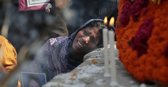Image of Asia: Mourning dead in Bangladesh factory collapse