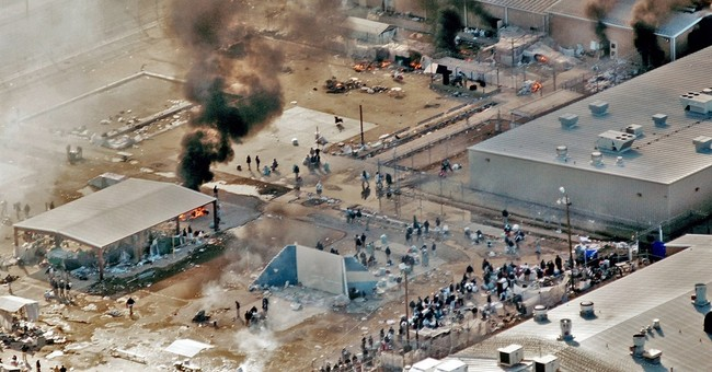 Correction: Texas Prison-Riot Report story
