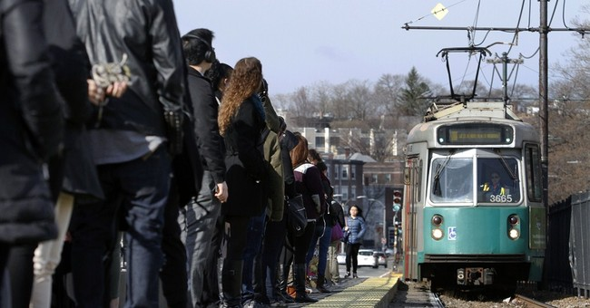 Boston transit agency offers free rides because of snow woes