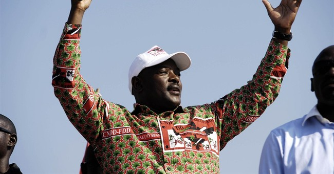 Protests after Burundi leader is nominated for a third term