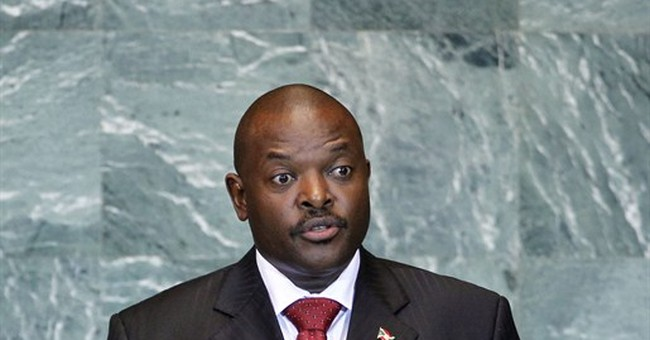 Burundi president nominated by ruling party for third term