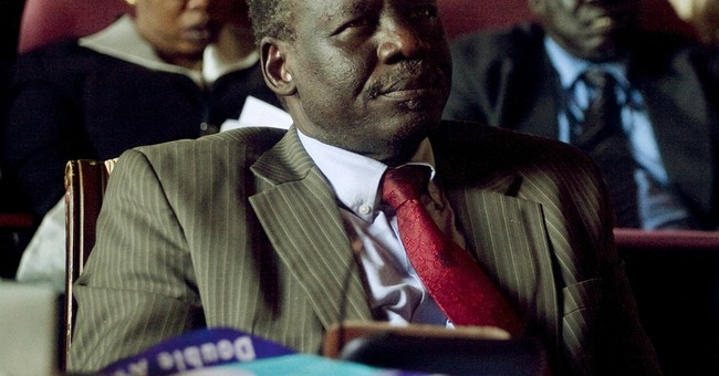 South Sudan opposition leader says troops surround his home