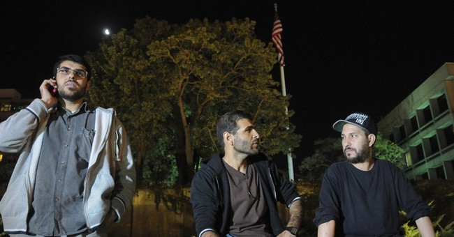 Ex-Guantanamo detainees in Uruguay protest at US Embassy