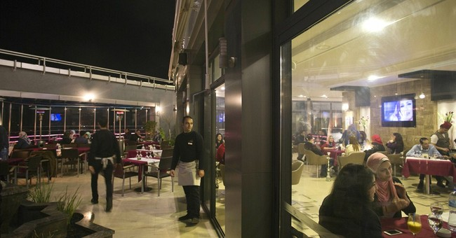 Rooftop restaurant provides rare bright spot in Gaza