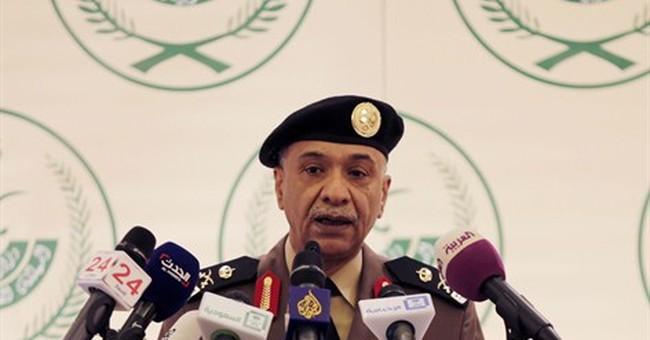 Saudi Arabia says IS group behind killing of 2 policemen