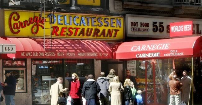 NYC's famed Carnegie Deli closed over gas line issue