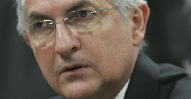 Jailed Venezuelan mayor transferred from prison to hospital