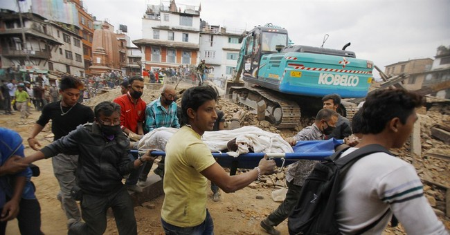 US sending disaster response team, $1 million aid to Nepal