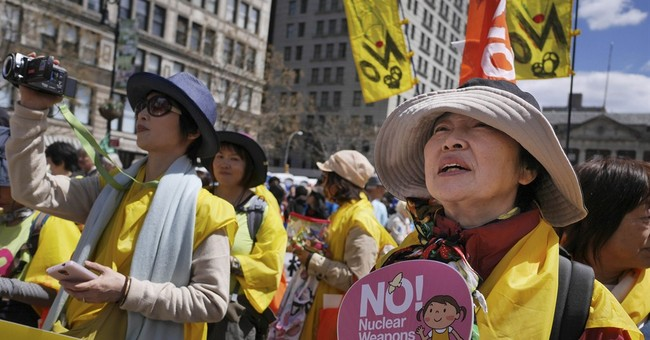 As nuclear powers meet, NYC rally demands end to weapons
