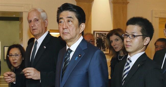 Japan's prime minister kicks off US visit in Boston
