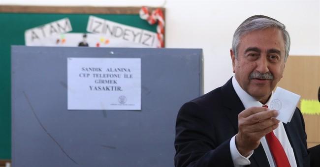Mustafa Akinci elected leader of breakaway Turkish Cypriots