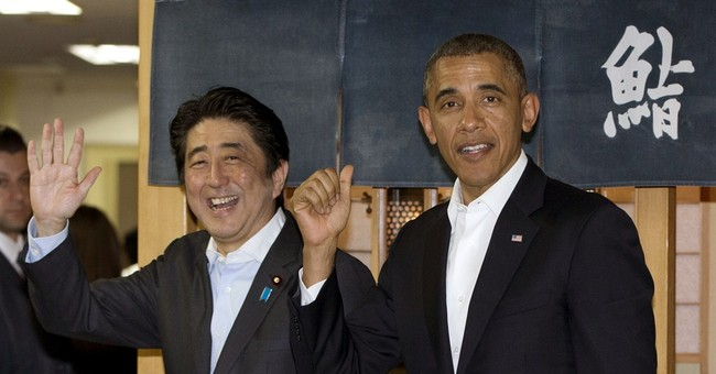 Japan's prime minister goes to US to showcase close ties