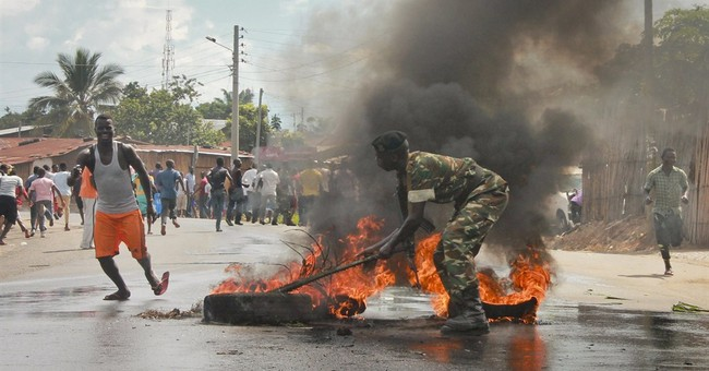 Burundi: 3rd day of protests against president